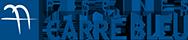 logo carré bleu poitiers
