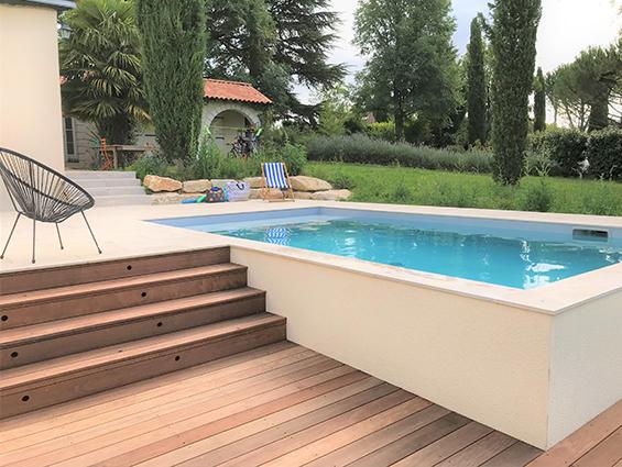 terrasse piscine en bois terrassteel poitiers