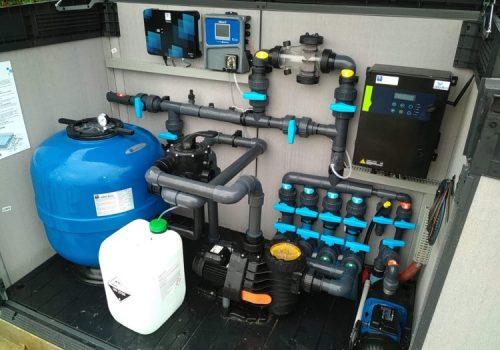 traitement d'eau par électrolyse, et régulation pH automatique